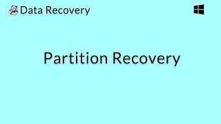 Data Recovery (Windows): Recover Files from Lost or Damaged Partitions