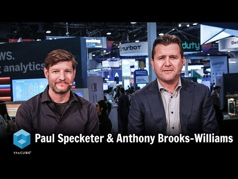 Paul Specketer, SUEZ & Anthony Brooks-Williams, HVR | AWS re:Invent 2018