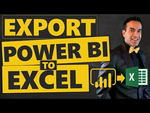How To Export Power BI To Excel (5 Different Ways)