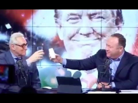 Image result for ALEX JONES AND ROGER STONE