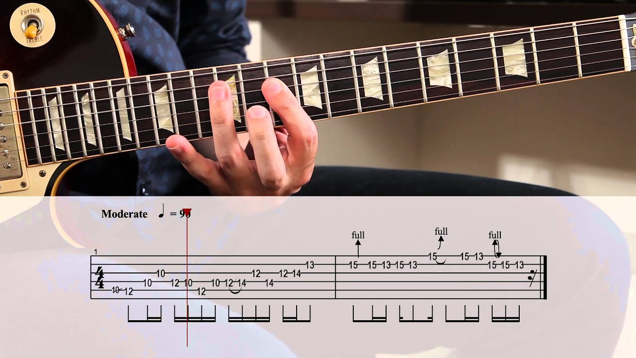 Stairway To Heaven Solo Lesson With Tabs Youtube