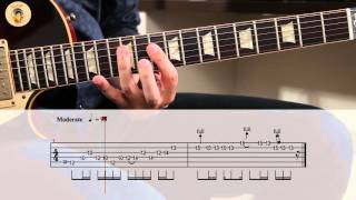 Stairway To Heaven Solo Lesson - With Tabs
