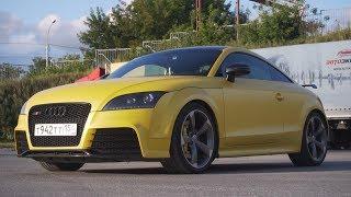 Заряженная Audi TTs. Жёлтая пуля