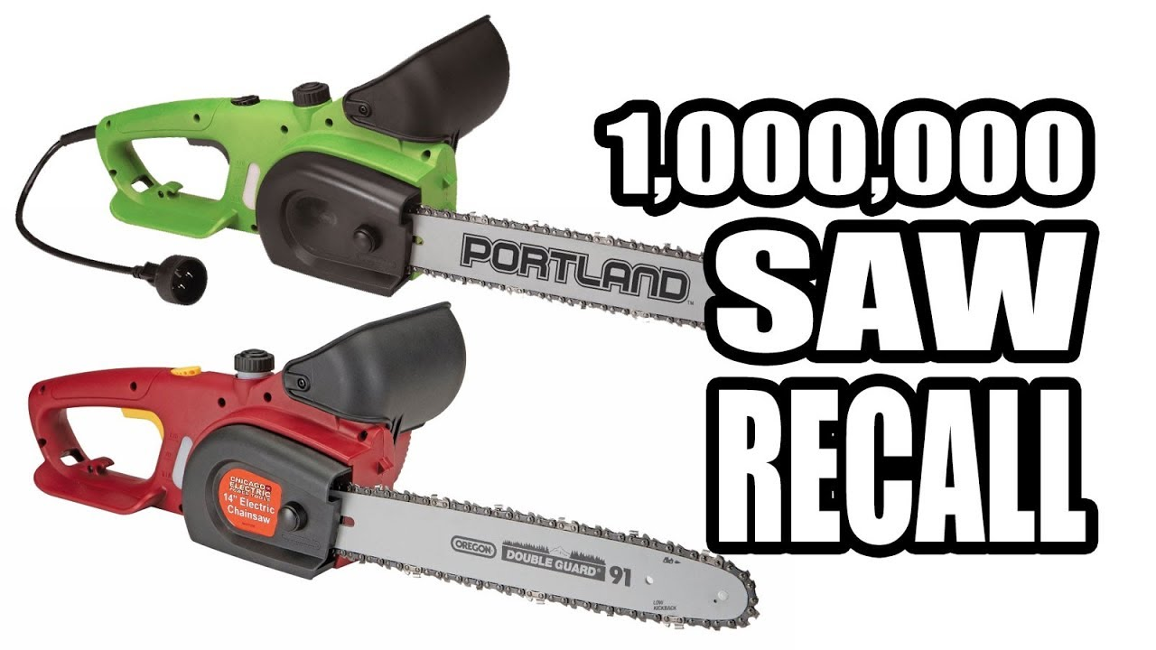 Harbor Freight Recall On Chainsaws Video | OPE Reviews