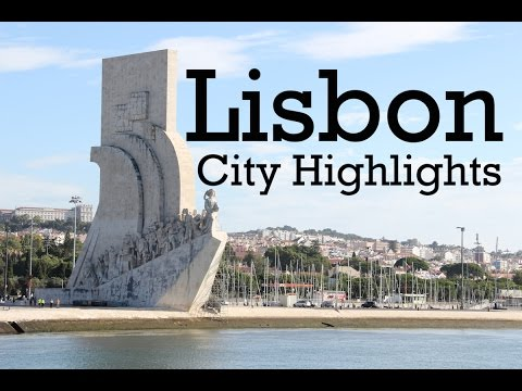 Lisbon Portugal Highlights. Must-See Sights And Attractions