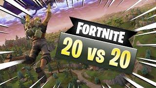 FORTNITE 20 vs 20!!! | Afreim