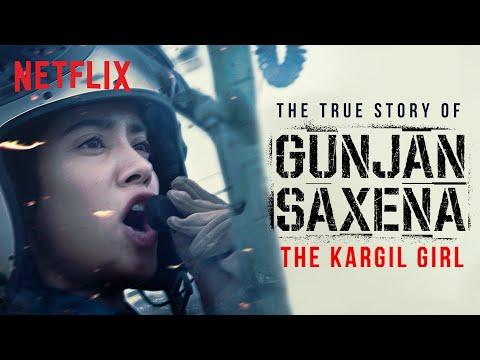 Introducing Gunjan Saxena: The Kargil Girl   Janhvi Kapoor   A Netflix Original Film   Netflix India
