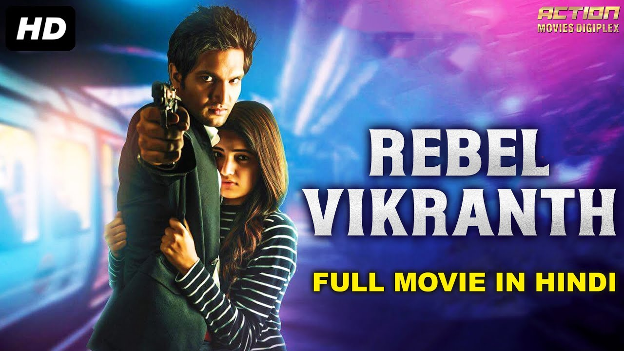 REBEL VIKRANTH Hindi Dubbed Full Action Romantic Movie | South Indian Movies Dubbed In Hindi Full HD