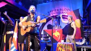 Follow the Sun - Xavier Rudd & the United Nations  30.06.15  Fabrik Hamburg