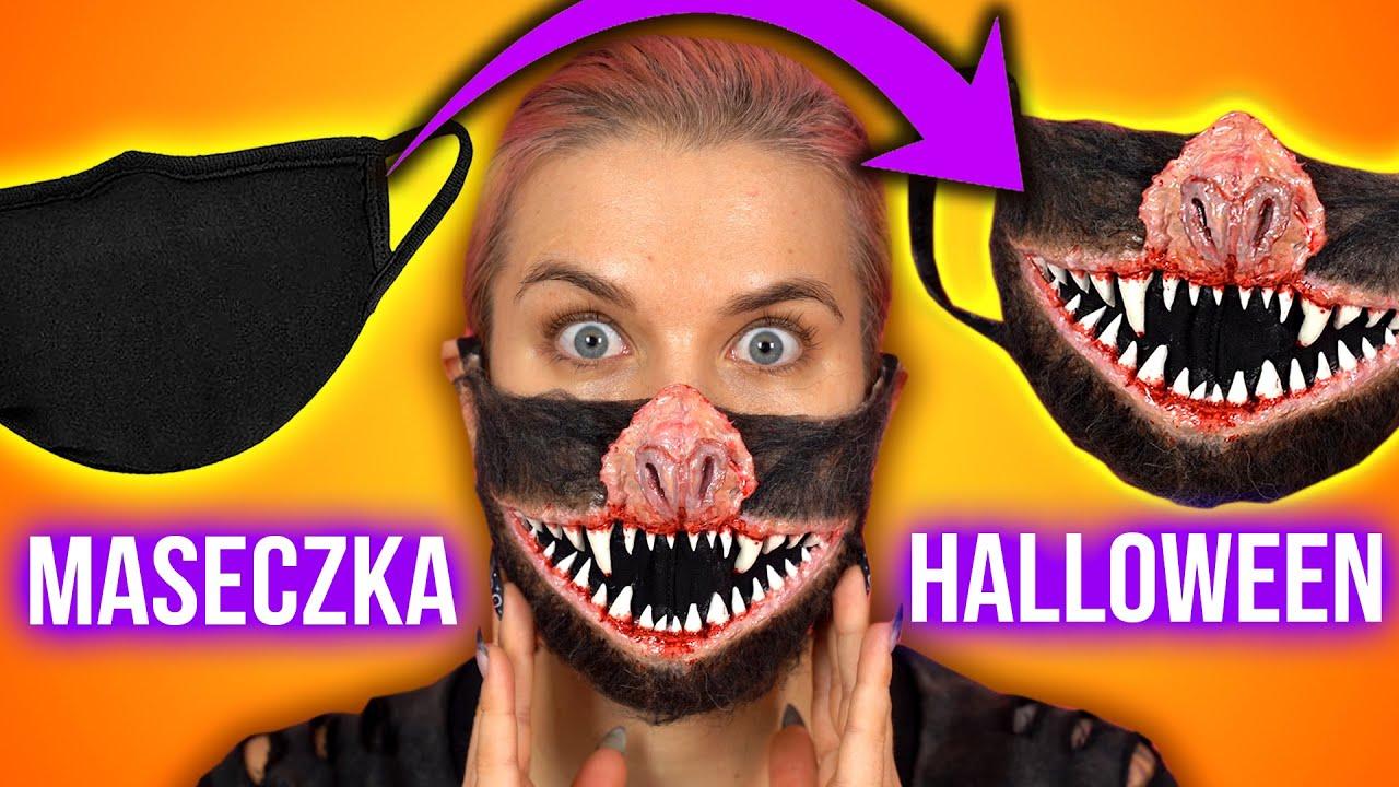 ♦ Maseczka DIY na Halloween - łatwa maska potwora ♦ Agnieszka Grzelak Beauty