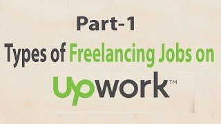 Types of Freelancing Jobs and Online Freelance Writing Jobs
