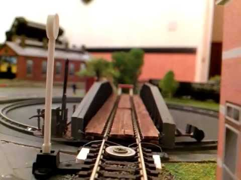 Dapol 00 gauge Turntable driven by pic and stepper motor