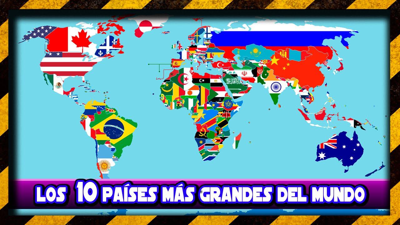 Los 10 Pases Ms Grandes del Mundo 2017  YouTube