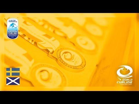 Sweden v Scotland - Mens Gold - Le Gruyère AOP European Curling Championships 2018