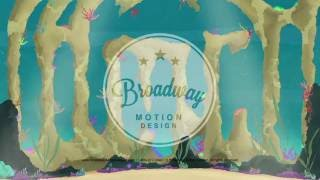 Little Mermaid Scenic Projections: Act 1 Scene 2