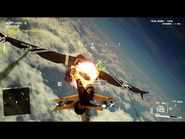 Project Wingman Conquest Mode PC gameplay - Hunting airships