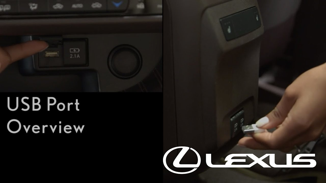 How-To Utilize All USB Ports - Overview | Lexus RX