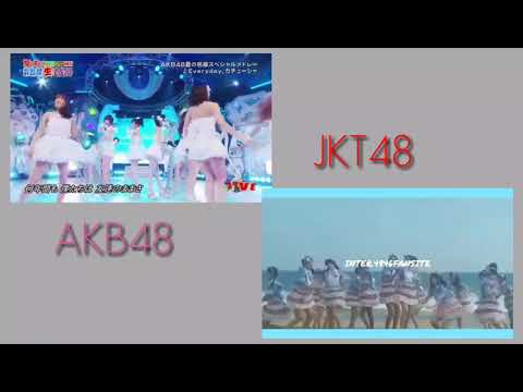 EVREYDAY KACHUUSHA JKT48 DAN AKB48