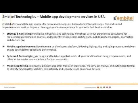 Mobile App Development Company In Michigan, USA