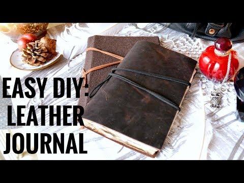 EASY DIY: VINTAGE JOURNAL