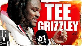 God's Warrior Tee Grizzley from Detroit with his 1st Fire In The Bo...