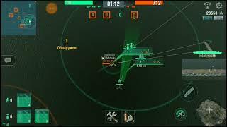 World Of Warships Blitz /погоня за авианосцем
