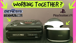 PSVR Experiment! Let's Hook Up The Sega Genesis/Sega-CD To Playstation VR | Eggzone Revolution