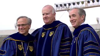 Notre Dame Commencement 2018: Bill Goodyear Honorary Degree