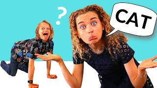 GUESS WHAT I AM?? KIDS CHARADES Challenge