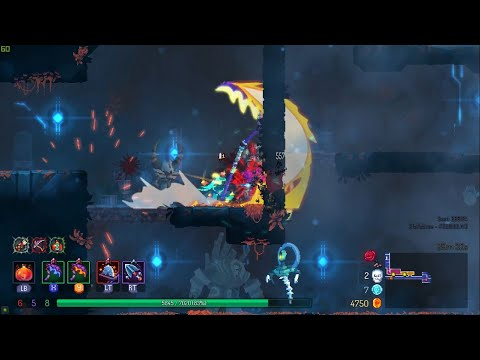 Dead Cells The Bad Seed DLC - Left Scythe Caw - Beuniquer |