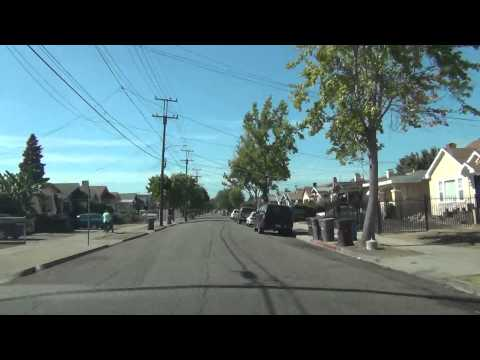 Driving in Oakland California 73AVE Part 1