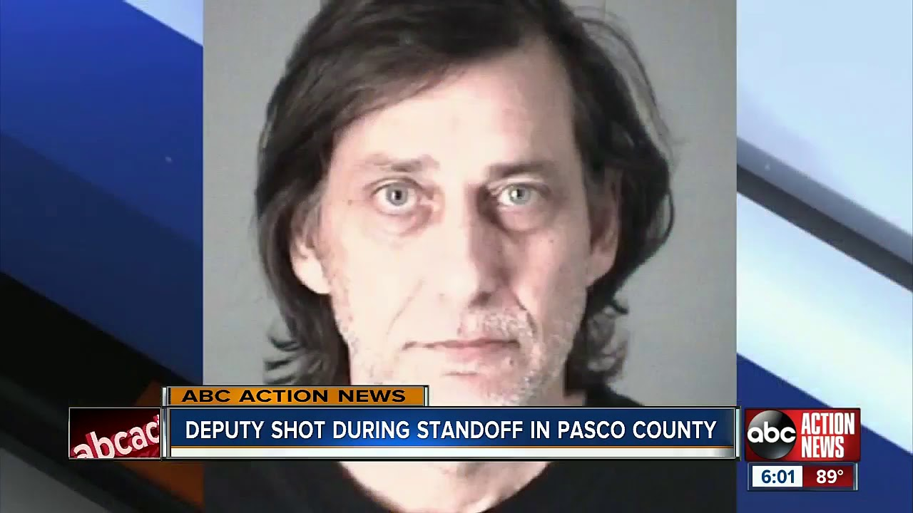 Pasco, Florida Deputy Shot In Leg