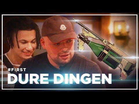 QUCEE en JACIN TRILL SCHIETEN met DUURSTE CHAMPAGNEPISTOOL: DURE DINGEN #FIRST