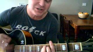 Acoustic guitar tutorial for Donovan - Mellow Yellow.