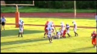 Danny thomas football piper sophmore highlights 2012 -2013
