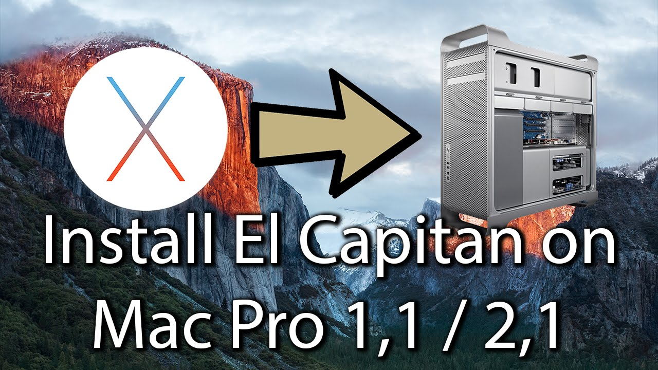 Link For Mac El Capitan Install