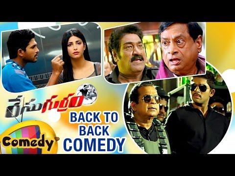 Back to Back Comedy Scenes | Race Gurram Telugu Movie | Allu Arjun | Shruti Haasan | Brahmanandam