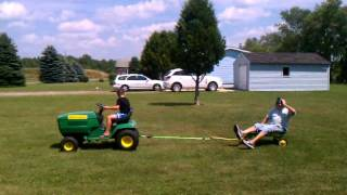 John Deere Tractor Wagon