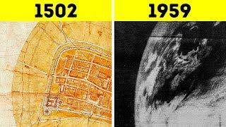Леонардо да Винчи создал спутниковую карту без участия спутника