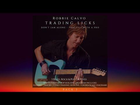 ROBBIE CALVO - TRADING LICKS PACK 3 - E MAJOR PENTATONIC DEMO