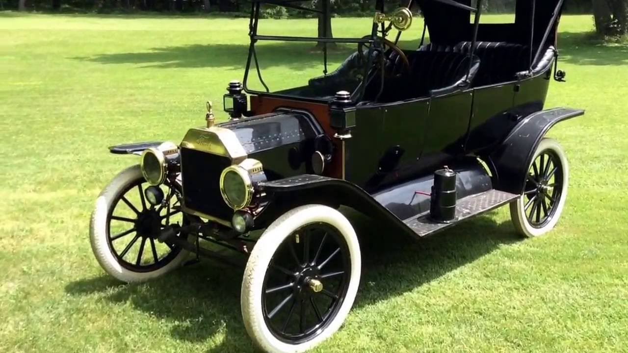 Model T Car: 1914 Ford Model T Touring Car