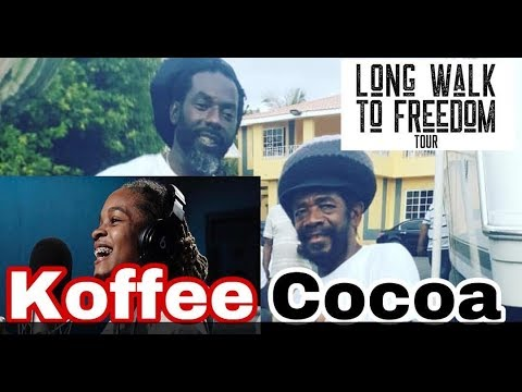 COCOA TEA CALLS KOFFEE ON STAGE AND MASH BUJU BANTON LONG WALK TO FREEDOM CONCERT