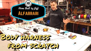 Building a body wiring harness from scratch - Ferrari engined Alfa 105 Alfarrari build part 110