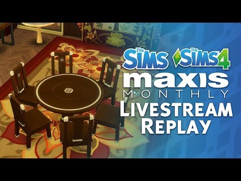 Maxis Monthly Livestream Replay: The Sims 4 Update Preview + The Sims Franchise Anniversary thumbnail