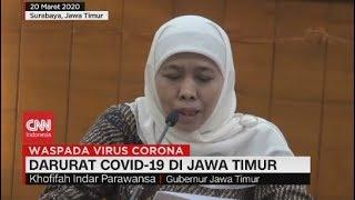 Darurat Covid-19 di Jawa Timur