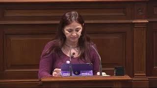 María del Río (Podemos) propuestas para garantizar el derecho a la vivienda.