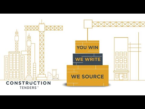 We Source | We Write | You Win - Construction Tenders