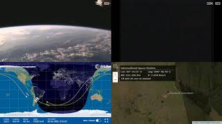 Evening Over South America - NASA/ESA ISS LIVE Space Station With Map - 496 - 2019-02-20