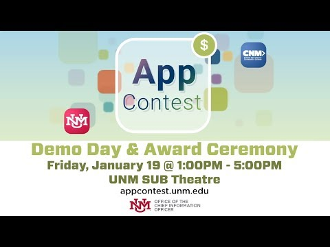UNM IT App Contest Demo Day & Award Ceremony (2017 – 2018)