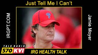 Jamie Moyer Talks About His New Book, Just Tell Me I Can